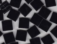 Glas Mosaiksteine 1,5x1,5 cm schwarz 500g.- ca. 330 St. B-WARE!!!