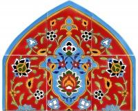 Orientalische Fliesen 100x60 cm Taghi-rotmas-goly