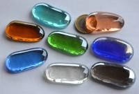 Deko Mosaiksteine irisierend länglich 4-5 cm Bunt 8 St.-ca. 95g