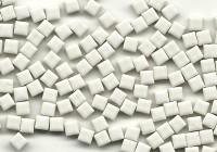 Mini Mosaiksteine weiß, 5x5mm, 20g - ca. 120-150 St.