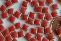Mini Mosaiksteine rot, 5x5mm, 20g - ca. 120-150 St.