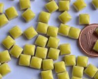 Mini Mosaiksteine gelb, 5x5mm, 20g - ca. 120-150 St.